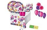 Creative Converting kit n.49 butterfly garden giardino delle farfalle