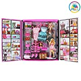 #2: Smiles creation Party Girl Doll and Her Personal Style Wardrobe Set Toy for Kids