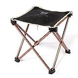Portable Folding Camping Stuhl - Kingwo Outdoor Falten Aluminium Stuhl Hocker Sitz Kinder Stuhl für Aotu Fischen Camping mit Tragetasche
