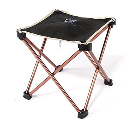51%2BY6plBGFL. SS500  - Portable Folding Camping Chair - Kingwo Outdoor Folding Aluminum Chair Stool Seat Children Chair for Aotu Fishing Camping with Carry Bag