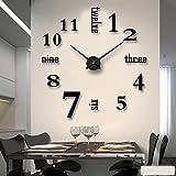 XPY-wall clock Wanduhr Nordischer Wandbehang, Uhr, Student, Kunst, Fotowandkombination, weißes...
