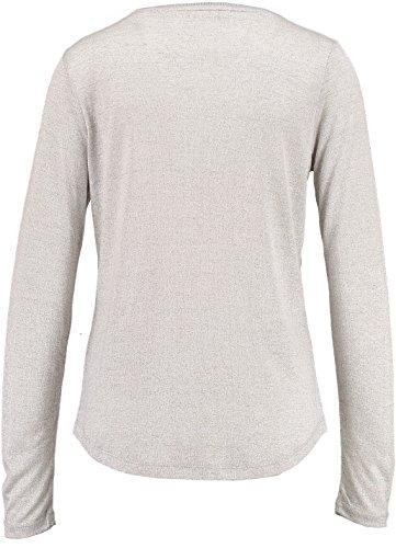 Garcia Damen Langarmshirt X60007 lgt grey 342
