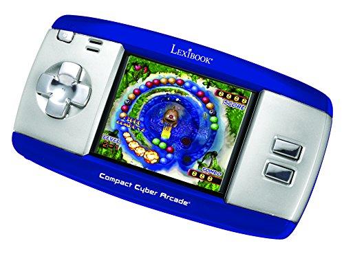 Lexibook - Consola Cyber Arcade, 250 juegos, color azul (Lexibook JL2374BL)