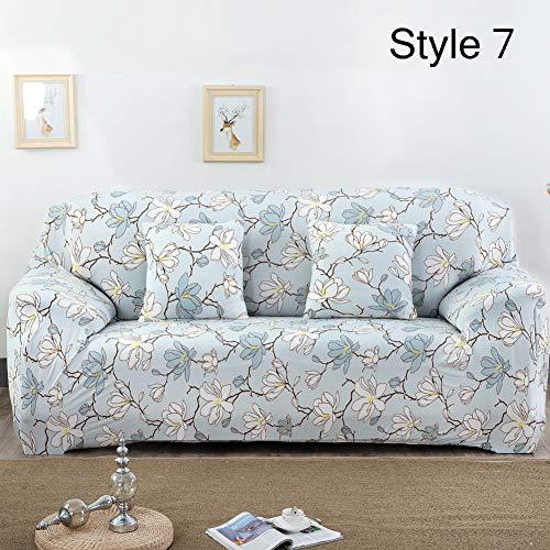 Kong eu copridivano 1234posti divano fodera per divano tessuto elastico antiscivolo protector, poliestere, style 7, 2 seater:145-185cm