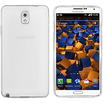 mumbi Schutzhülle für Samsung Galaxy Note 3 Hülle transparent weiß