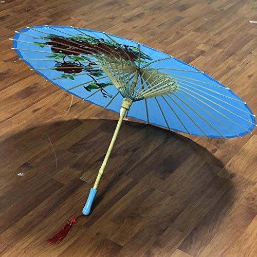 Tanz Regenschirm Kostüm - Brautaccessoires Regenschirme Sonnenschirme Handgemachte Seide Tanz Regenschirm Kostüm Fotografie Dekoration Requisiten Regenschirm @D