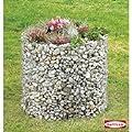 bellissa Hochbeet rund Gabione Höhe 80 Ø 92 cm von bellissa auf Du und dein Garten