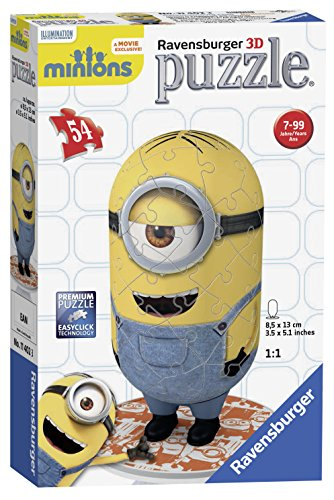 Image of Ravensburger Minion, Shaped 54pc 3D Jigsaw Puzzle®