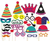 #2: SYGA party props set of 24 birthday theme paper craft item