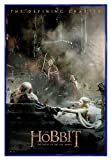 Close Up The Hobbit Poster Die Schlacht der fünf Heere Aftermath (94x63,5 cm) gerahmt in: Rahmen blau