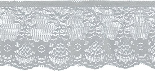 Decorative Trimmings Ruffled Fancy Lace Trim 3-1/8