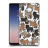 Head Case Designs Brussels Griffon Hunderasse Muster 5 Ruckseite Hülle für Samsung Galaxy A8 / A9 Star