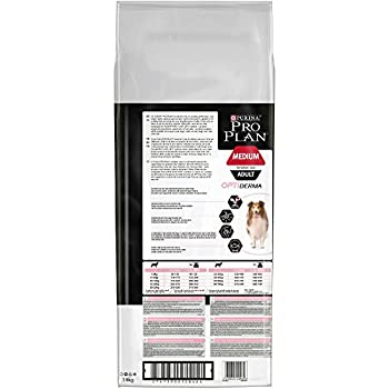 PURINA PRO PLAN Medium Adult Sensitive Skin avec OPTIDERMA Riche en Saumon - 14 KG - Croquettes pour chiens adultes de taille moyenne