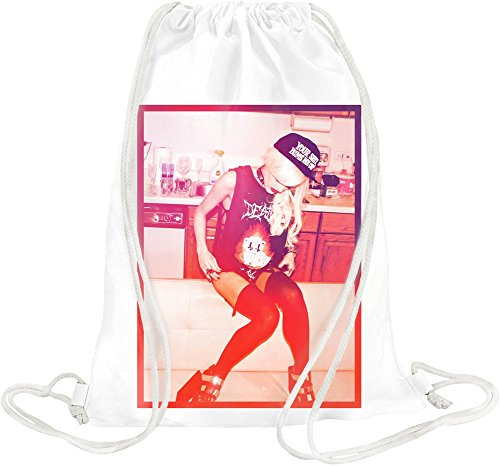 Snapback Sexy Hot Girl Drawstring bag