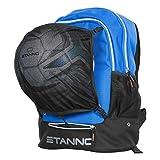 Stanno Rucksack mit Ballnetz - blau, Größe #:No size