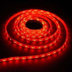 Ruban LED rouge, 1m50 R