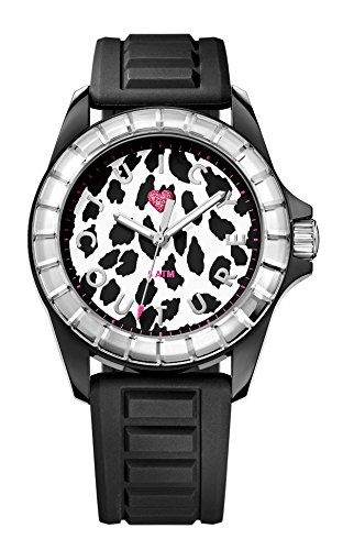 Juicy Couture - Orologio da polso, analogico al quarzo, plastica