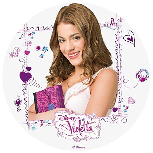 Tortenaufleger Violetta 003