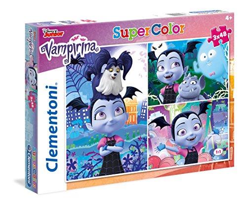 Clementoni-Clementoni-25229-Supercolor-Vampirina-3 x 48...
