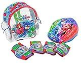 PJ Masks–Set mit Rucksack, Helm und Schützern, amijoc Toys 2938)