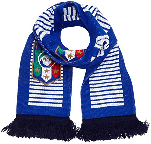 PUMA sciarpa Italia Fanscarf, Team potenza Blue/Navy/White, taglia unica, 053018 01
