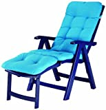 BEST 96336024 Deck-Chair Florida inklusive Polsterauflage
