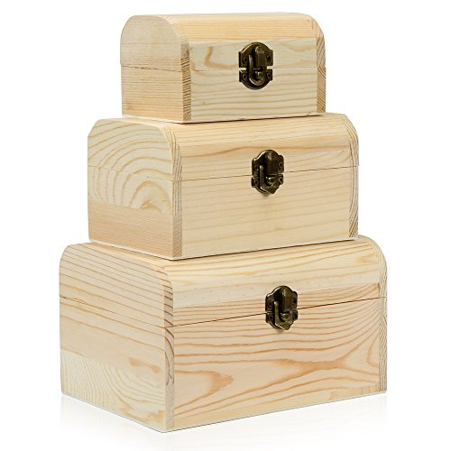 hsr-3-x-plain-unpainted-wooden-treasure-chest-jewellery-storage-wood-box-case-set-plain