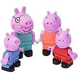 BIG-Bloxx Peppa Pig Peppa´s Family - Mama und Papa Wutz, Schorsch und Peppa, Ergänzung zu den Spielesets der BIG Bloxx…
