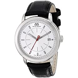 88 Rue du Rhone Men's 87WA120027 Analog Display Swiss Quartz Black Watch