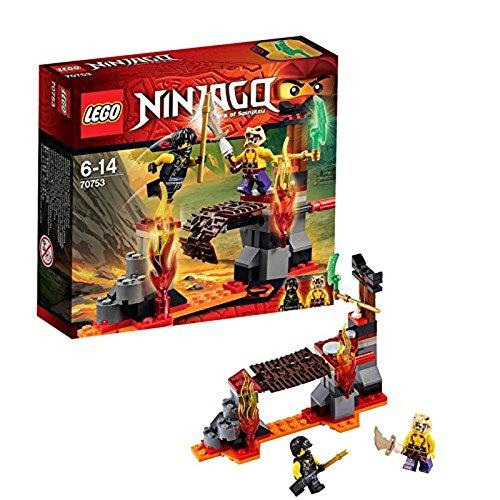 LEGO Ninjago 70753 - Lava-Fälle - Fälle Lego-set