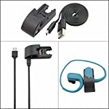 Meijunter Interface Cable Data Sync Adpater Dock USB Charge Cradle Chargeur Câble Données Sync Berceau for Sony Walkman NW-WS414/ NW-WS413