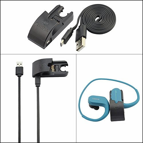 Zhuhaixmy Interface Cable Data Sync Adpater Dock USB Charge Cradle Ladegerät Wiege Daten Sync Kabel for Sony Walkman NW-WS414/ NW-WS413 Sync-charge Cradle