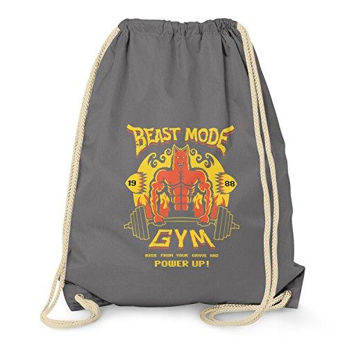 texlab-beast-mode-gym-turnbeutel-grau