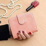 ZZDJ Brieftasche Frauen Kurze Karierte Geldbörsen Mini Brieftasche Weiblichen Kartenhalter Kleine Tasche Mit Reißverschluss Geldbörse Feminina , P