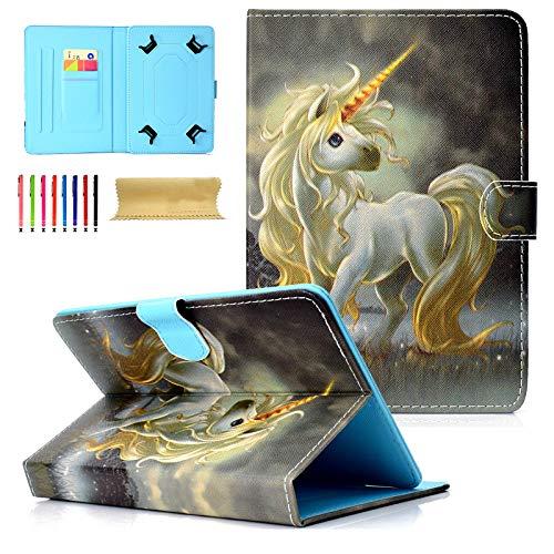 Universal Tablet-Schutzhülle mit Standfunktion für Amazon, Samsung, GoTab, RCA 03 Horse for 9-10 inch Tablet (Tasche Kinder Tablet 6 Zoll Für)