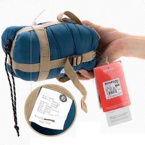 Waterproof Portable Summer Outdoor Ultralight Envelope Sleeping Bag Ultra Saving Space Cobalt Blue