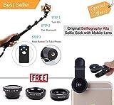 Best Iphone 6 Plus Selfie Sticks - Piqancy 1288 Selfie Stick With removable remote shutter Review