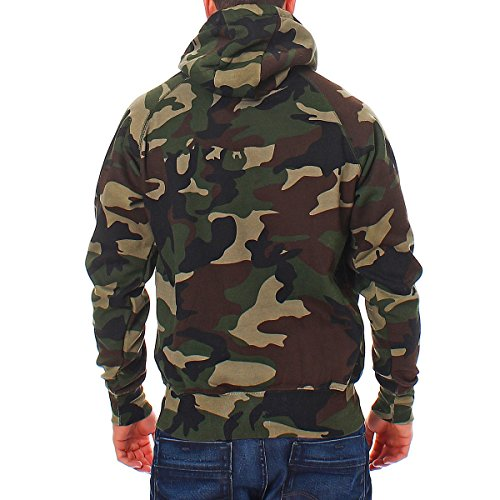herren pullover camouflage hoodie gr n kapuzenpullover. Black Bedroom Furniture Sets. Home Design Ideas