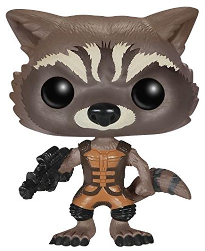 Funko Pop Rocket Raccoon (Guardianes de la Galaxia 48) Funko Pop Guardianes de la Galaxia