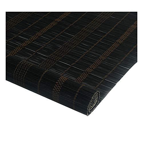 YANZHEN-Bambus Rollo Schatten Bambusrollo Jalousie Roman Roller Shades Abgeschnitten Sonnencreme Staubdicht Tee Raum 3 Farben, 23 Größe (Color : A, Size : 150X220CM) -