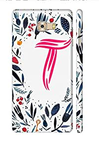 SRS Pattern T 3D Back Cover for Samsung Galaxy C7 Pro