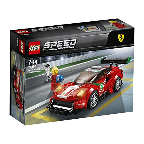 LEGO – 75886 – Speed Champions – Jeu de construction – Scuderia Corsa – Ferrari 488 GT3