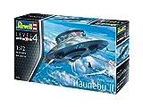 - 51 2BYWqFUTbL - Revell 03903 12 Modellbausatz Flying Saucer Haunebu Im Maßstab 1:72, Level 4, Länge 20 cm