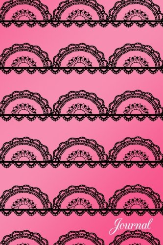 Journal: Pink pretty lace notebook por Brothergravydesigns