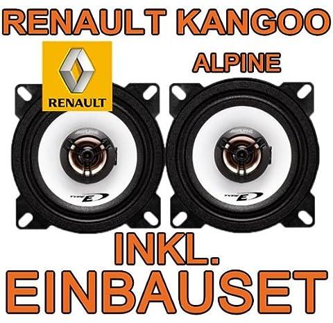 RENAULT KANGOO 1–Speaker–Alpine SXE 1025S 10cm Coaxial System