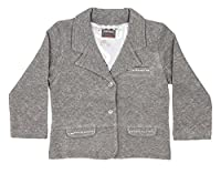 Girls grey silver blazer 2 to 11 years (7-8 years)