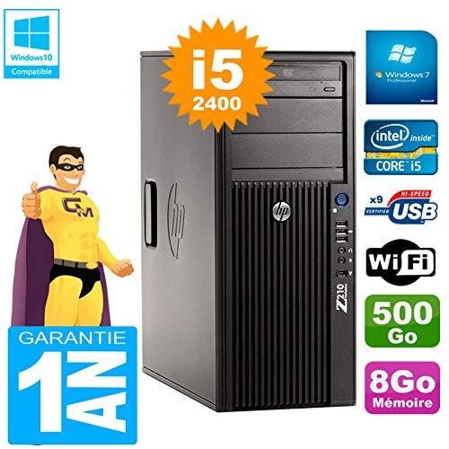 HP PC Workstation Z210 Core i5-2400 RAM 8GB 500GB DVD-Brenner WLAN W7