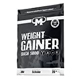Mammut Weight Gainer Crash 5000 Schoko Kohlenhydrate Masseaufbau Kreatin