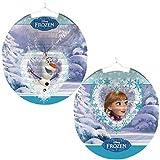 Lampion Ballonlaterne Laterne Frozen Eiskoenigin Anna und Elsa oder Olaf by Riethmüller