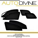 #8: Ford ENDEAVOUR New, Car Accessories Side Window Zipper Magnetic Sun Shade, Set of 6 Curtains.